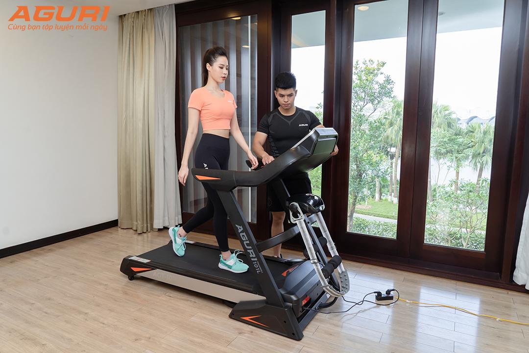 Kế hoạch giảm cân bằng máy chạy bộ
