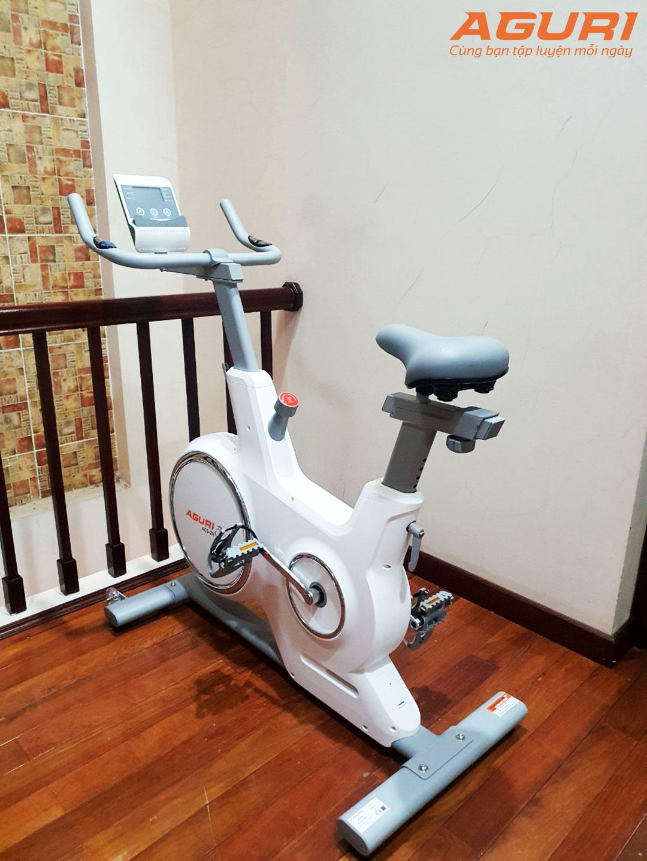 Giảm cân tại nhà bằng xe đạp tập không tiếng ồn