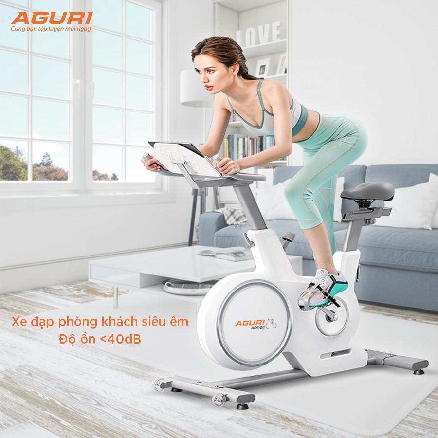 xe đạp tập không tiếng ồn AGURI AGS-211