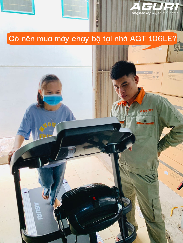 có nên mua máy chạy bộ tại nhà AGT-106LE