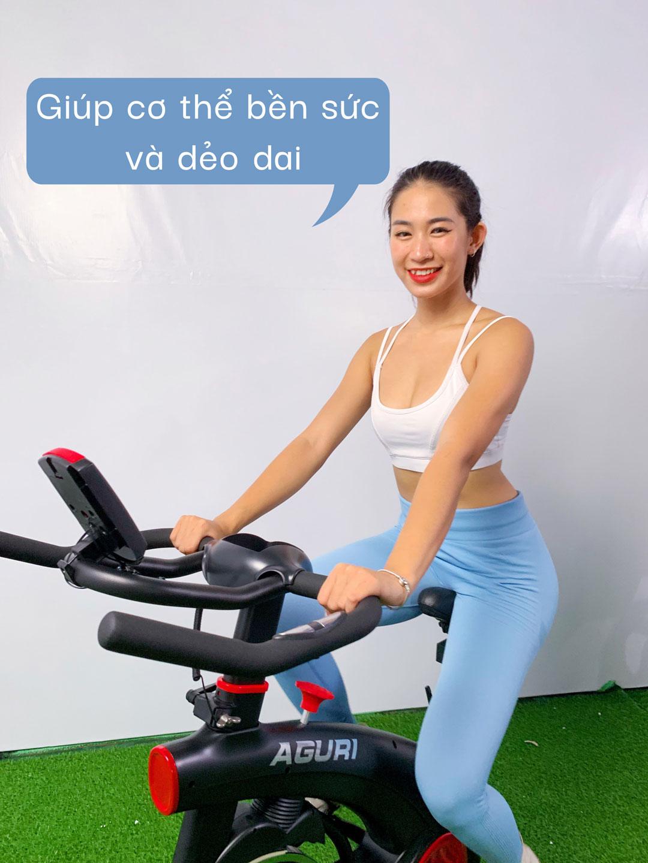Xe đạp tập thể dục AGS-201 sự lựa chọn tuyệt vời cho người dùng