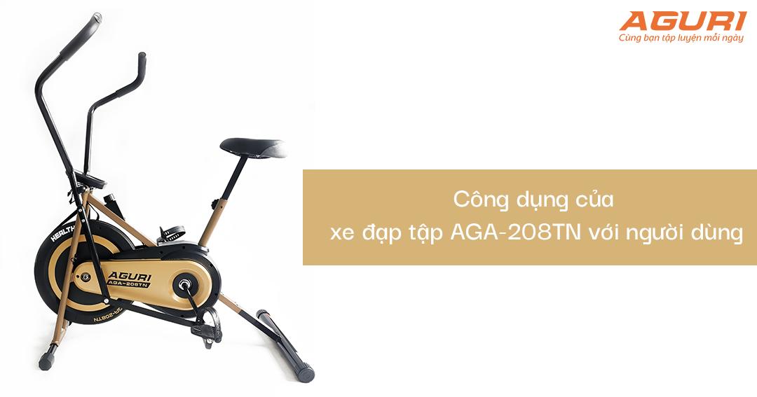 Bật mí những đặc điểm nổi bật của xe đạp tập tại nhà AGA-208TN