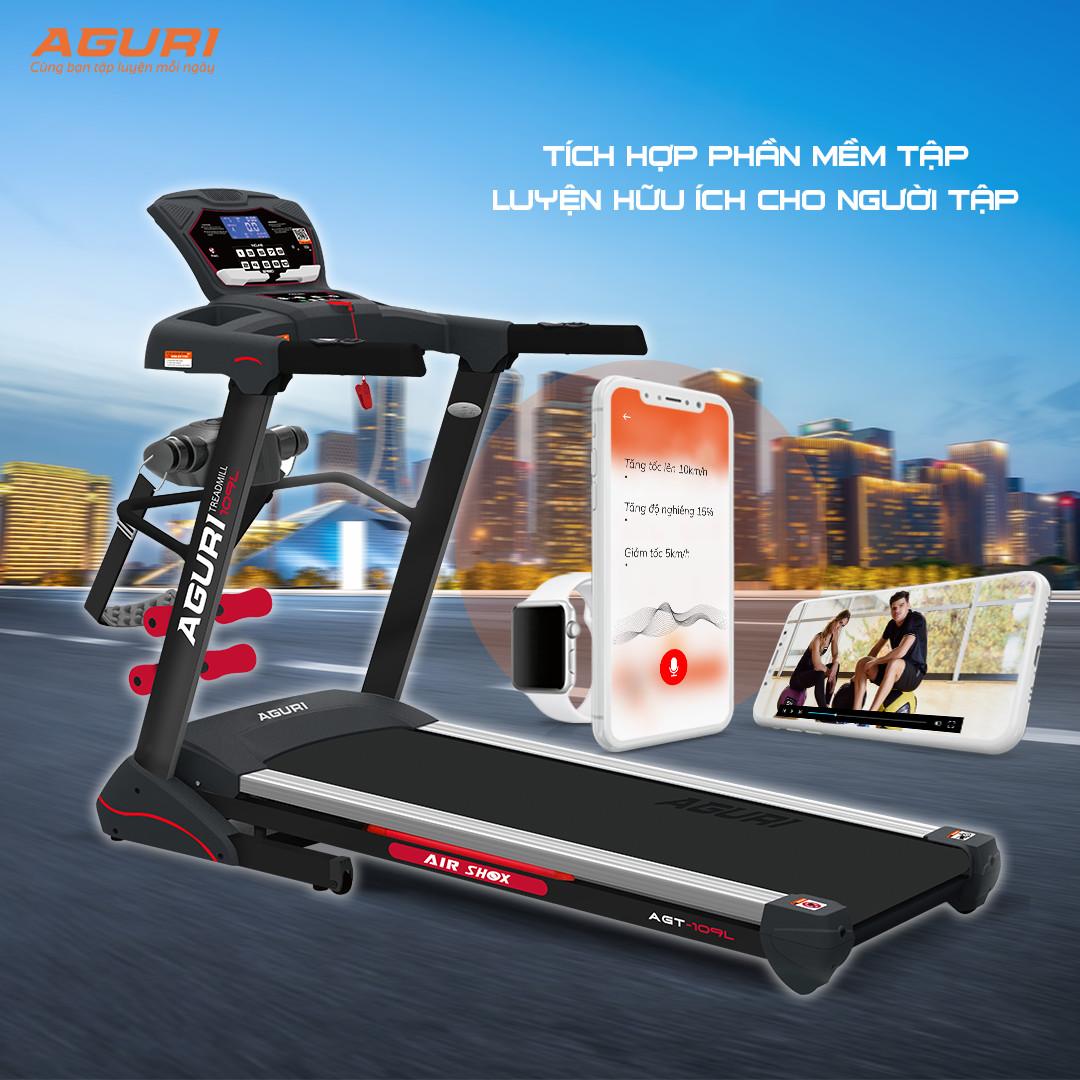 Máy chạy bộ tại nhà AGT-109L - Đẳng cấp - Chất lượng - Siêu lòng giới yêu gym!!!
