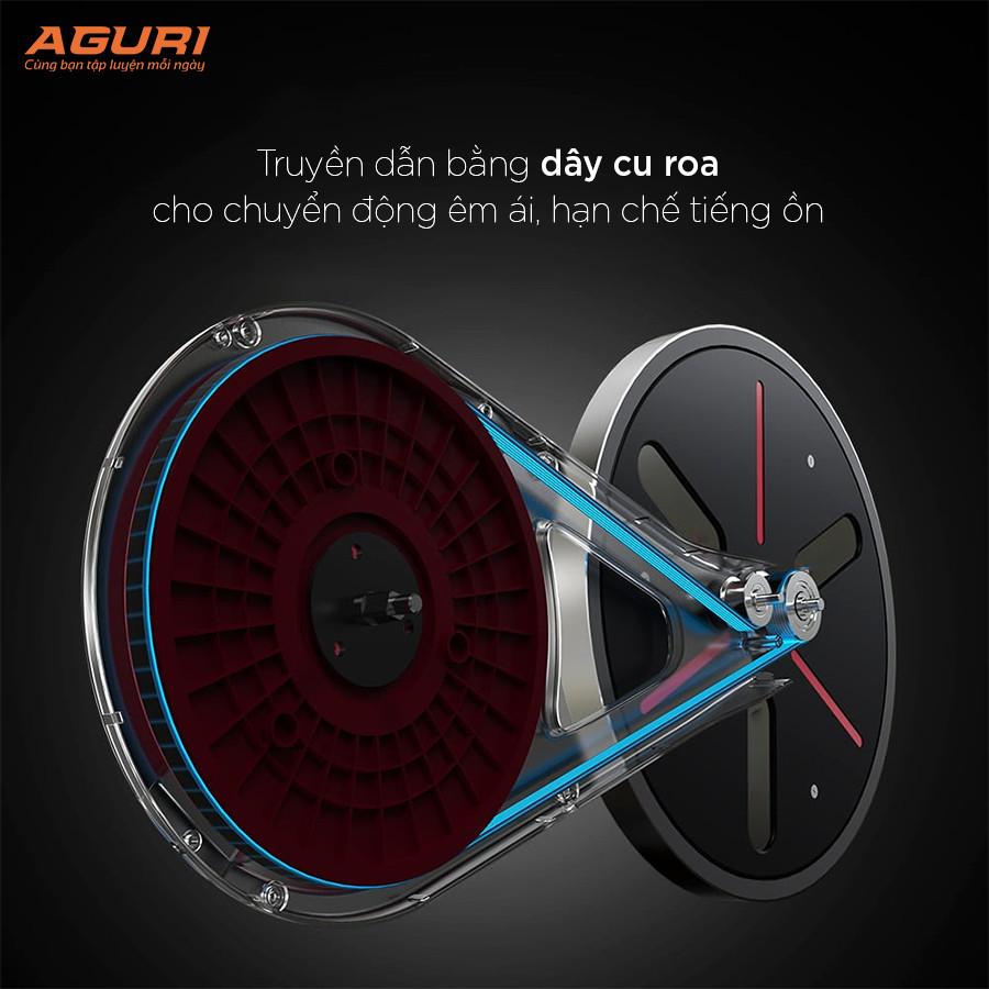 Xe đạp tập thể dục - Xe đạp tập phòng khách AGS-211 bán chạy nhất thị trường!