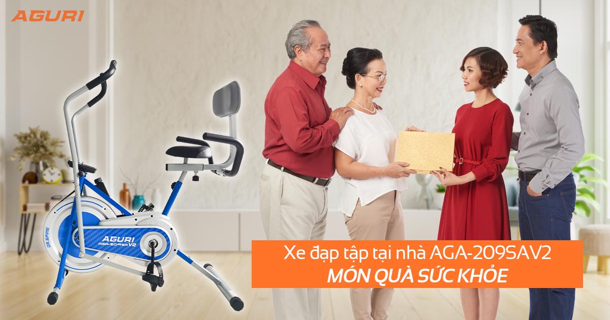 Xe đạp tập tại nhà AGA-209SAV2 - Món quà sức khỏe