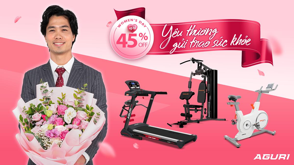 20/10 Yêu thương gửi trao sức khỏe - Sale up to 45% toàn bộ cửa hàng!